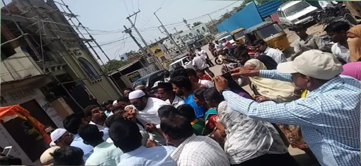 No attempt to redress civic issues in Bharat Nagar