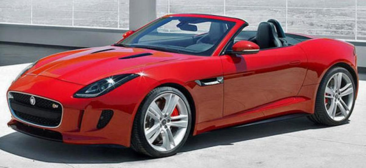 Jaguar Land Rover launches F-TYPE sedan with new petrol engine