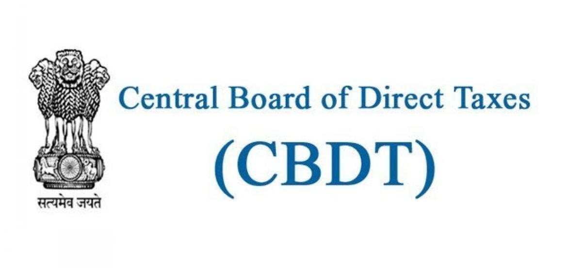 CBDT amends Section 16 of Income Tax Act