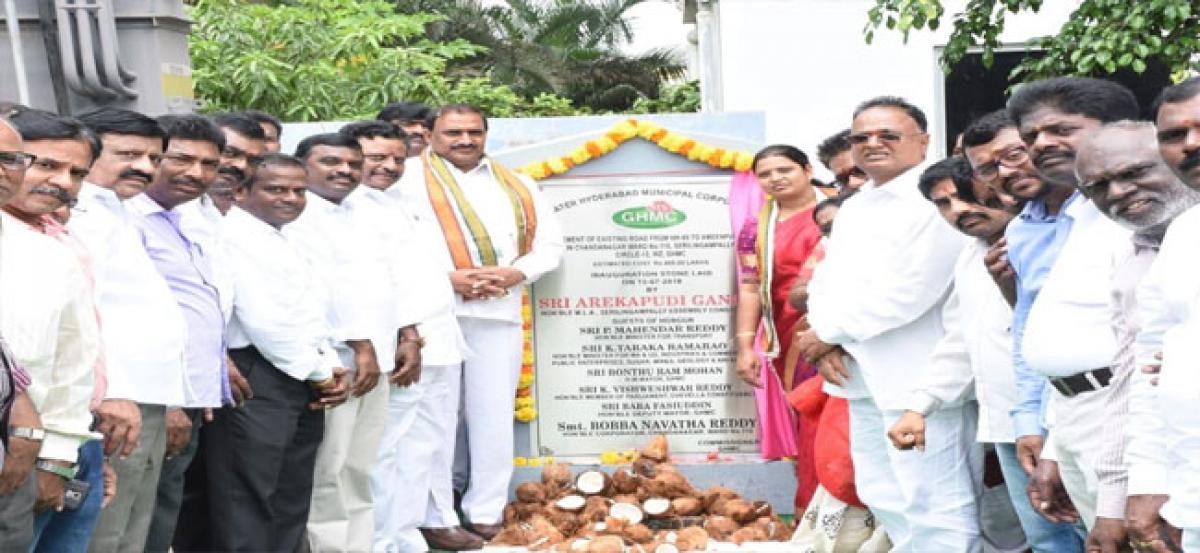 Arekapudi assures hassle-free transport facility