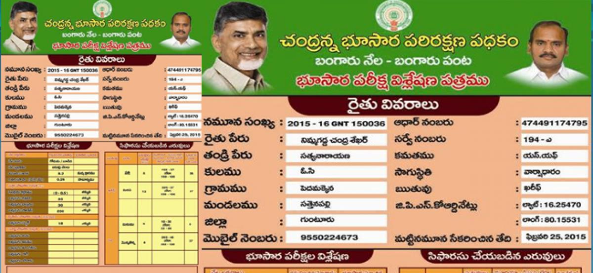 Soil Health Cards fail to benefit farmers in AP