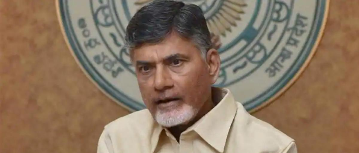 IT raids on TDP leaders cant stop fight for State: Chandrababu Naidu
