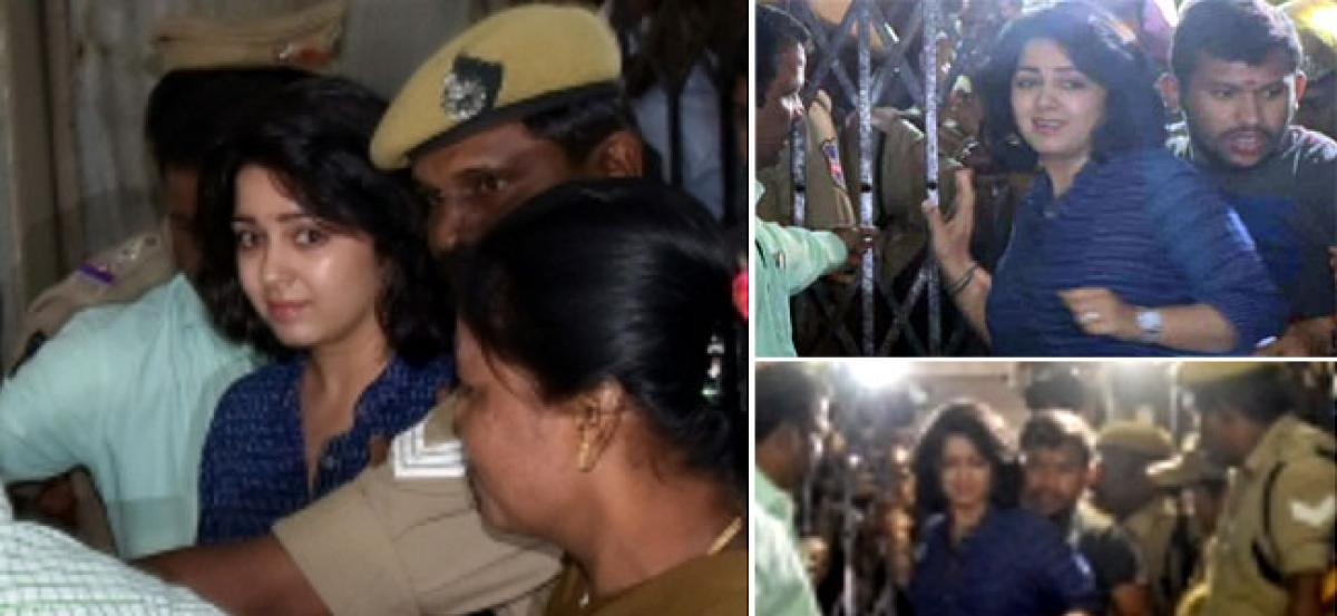 Actress Charmme Kaur grilled by SIT for six hours in drug case