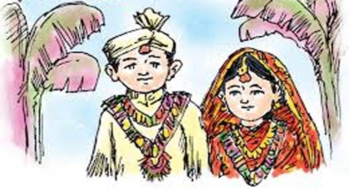 Police, Integrated Child Development Services officials stop two child marriages in Yadadri district