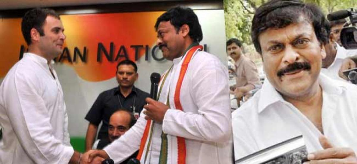Telangana polls: Congress to approach Chiranjeevi for election campaign