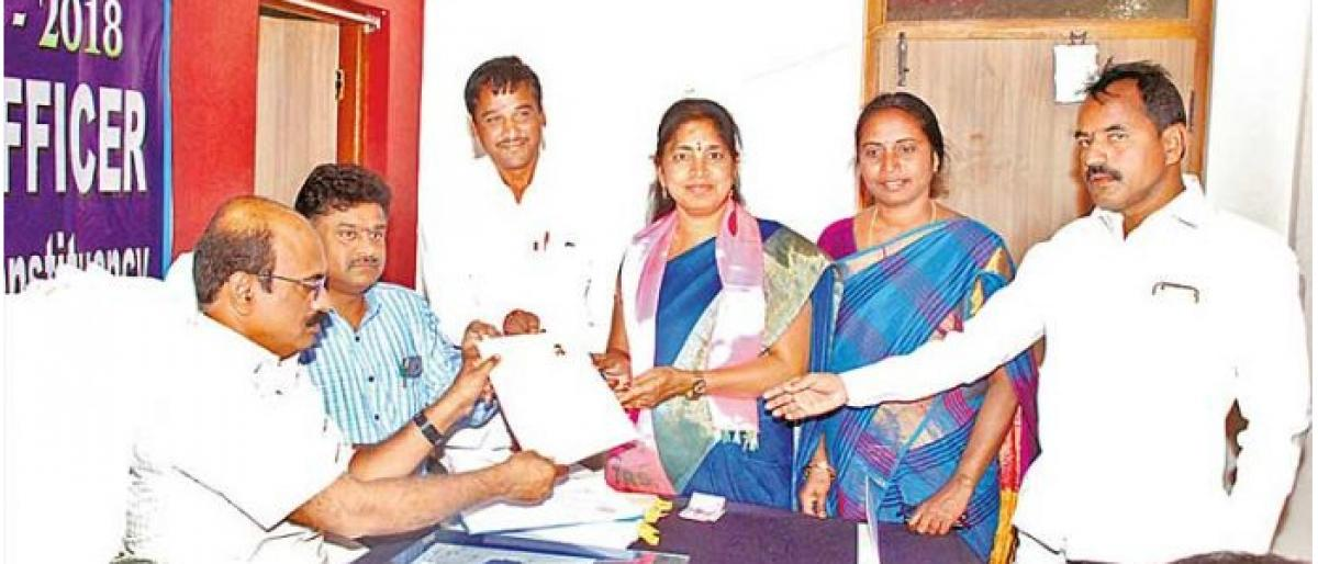 Nomination process ends in Telangana