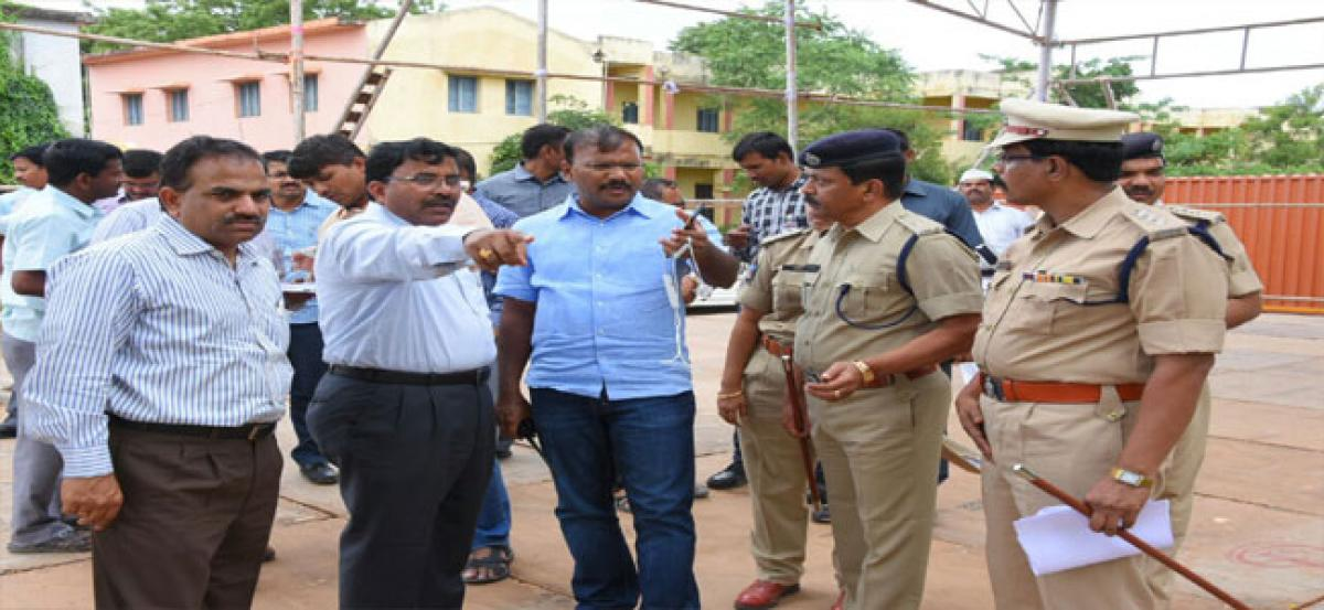 Chief Minister  to visit Nandyal today