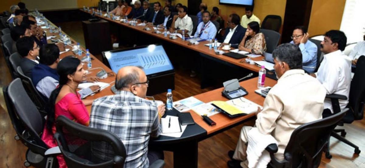 AP should emerge as knowledge hub for country: Chandrababu Naidu