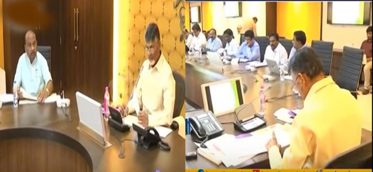 Chandrababu upset over the delay in Kanaka Durga temple flyover works