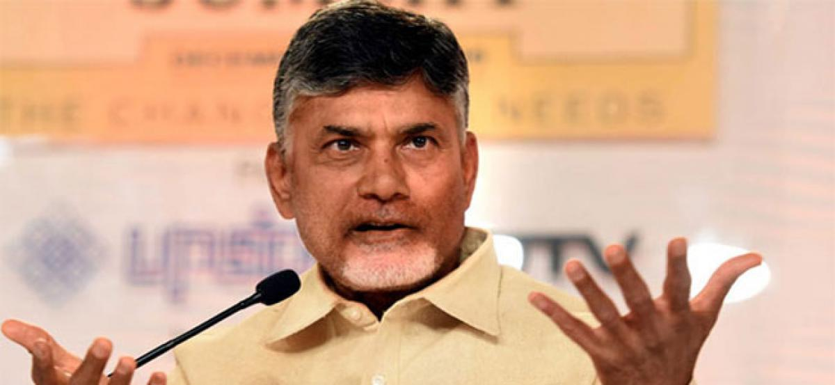 Chandrababu on differences with YSR