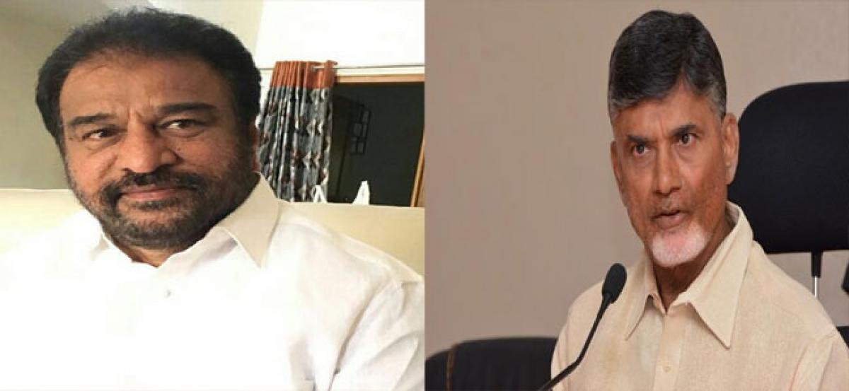Miffed Ramasubba Reddy meets CM, assured of MLC seat