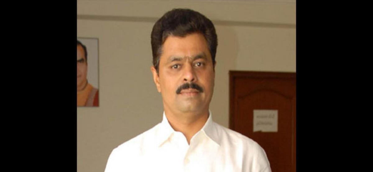 TDP MP CM Ramesh launches hunger strike for Kadapa Steel Plant