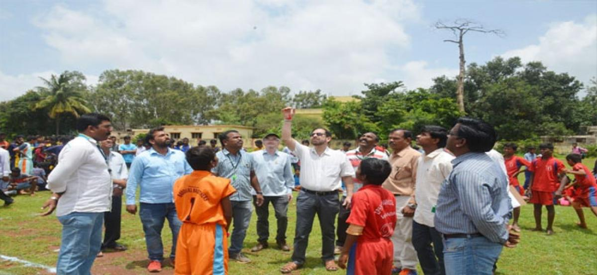 Students should excel in sports: Vikarabad Collector Syed Omar Jaleel