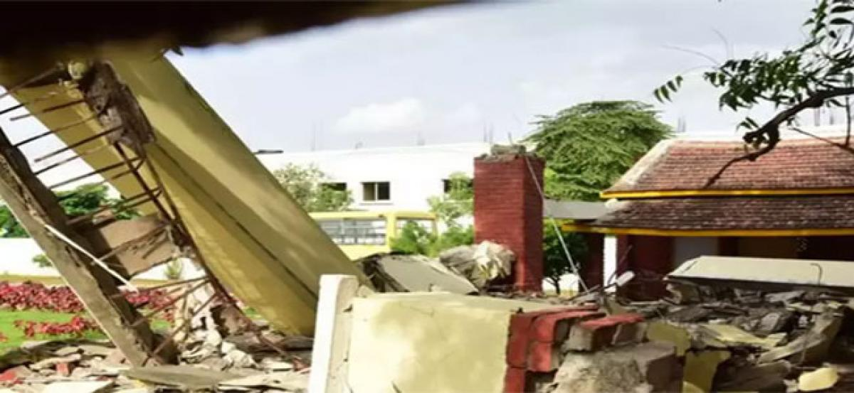Hyderabad school roof collapse: Another student dies; toll rises to three