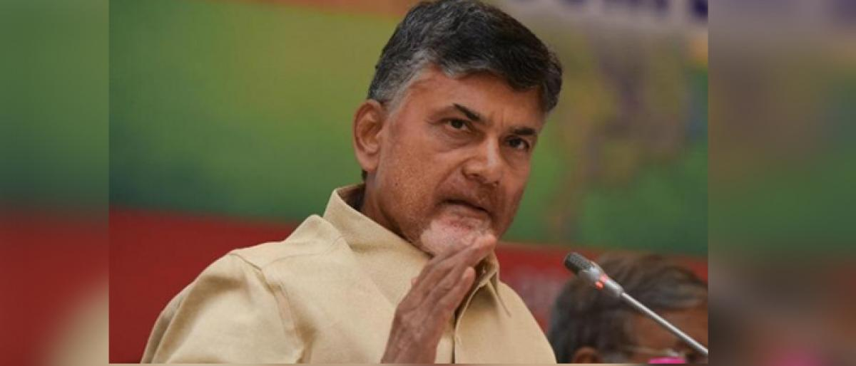 Naidu directs police to take Law and Order seriously