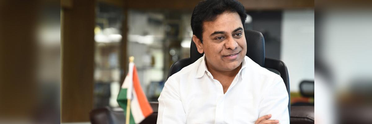 Harish Rao, Owaisi greets KTR on his new post