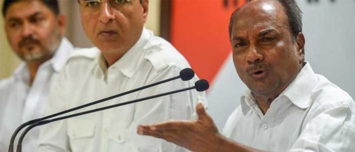 Congress leaders meet CAG seeking probe into Rafale deal
