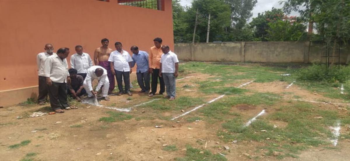 Corporator inspects development works