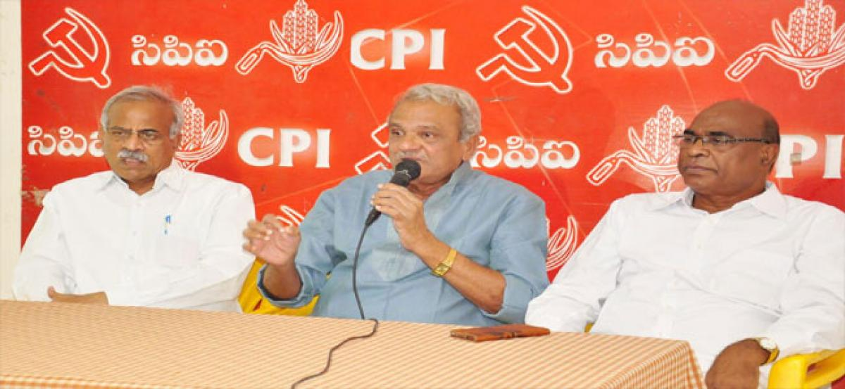 CPI holds district committee meeting