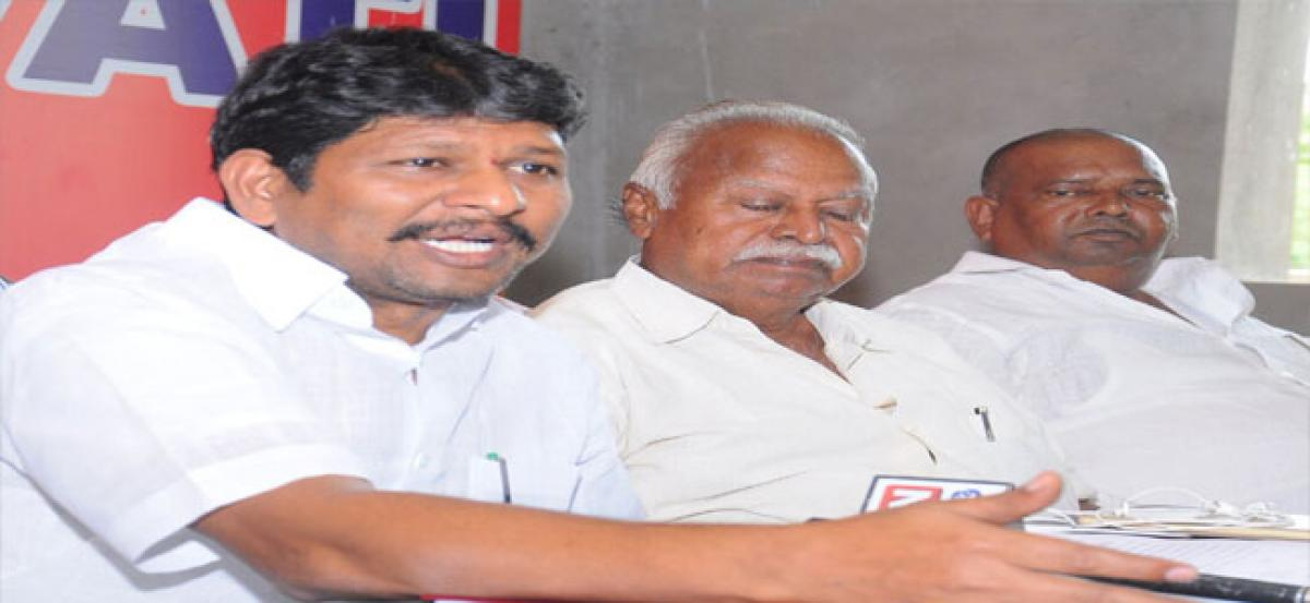 Village revenue assistants demand pay hike