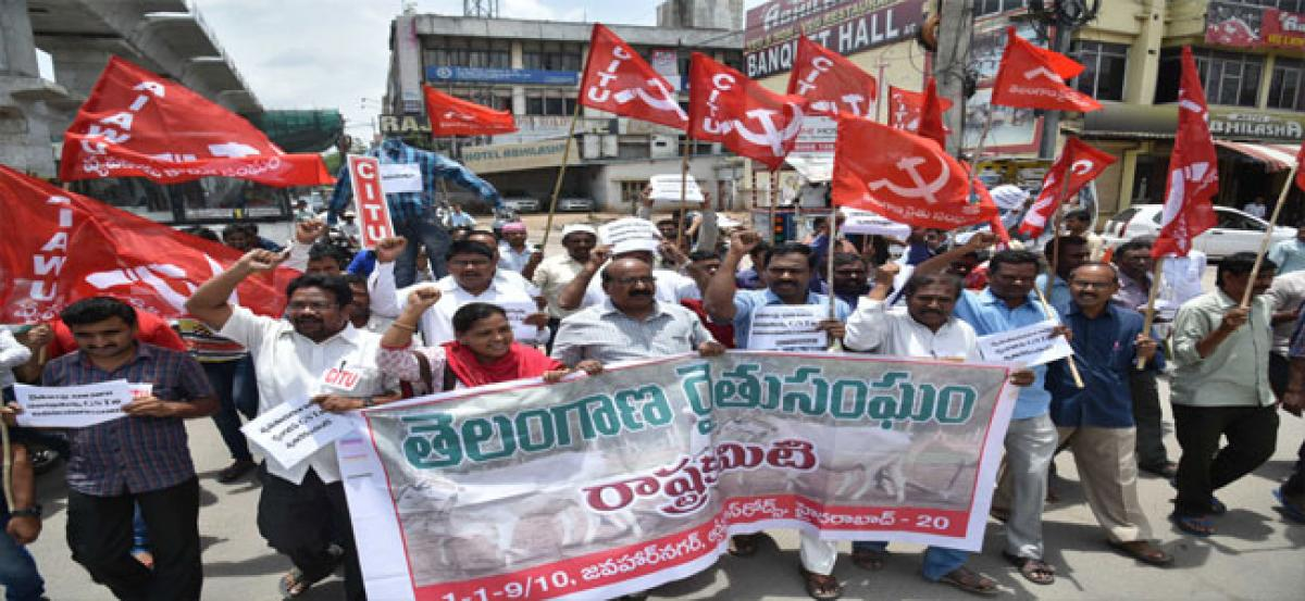 CPM prods government for a meeting with Narendra Modi