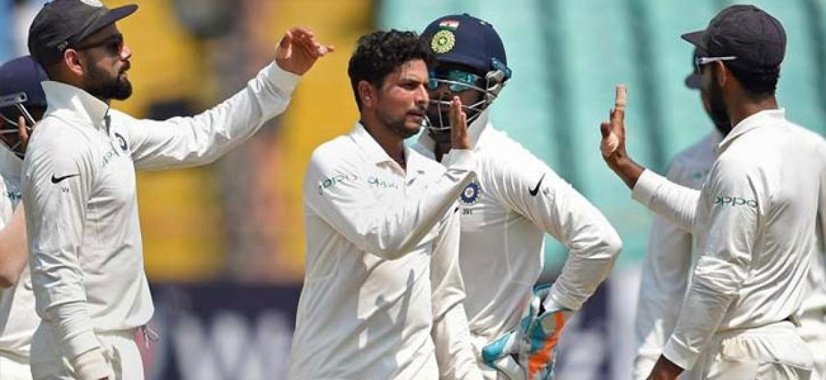 India wins Rajkot Test by an innings and 272 runs