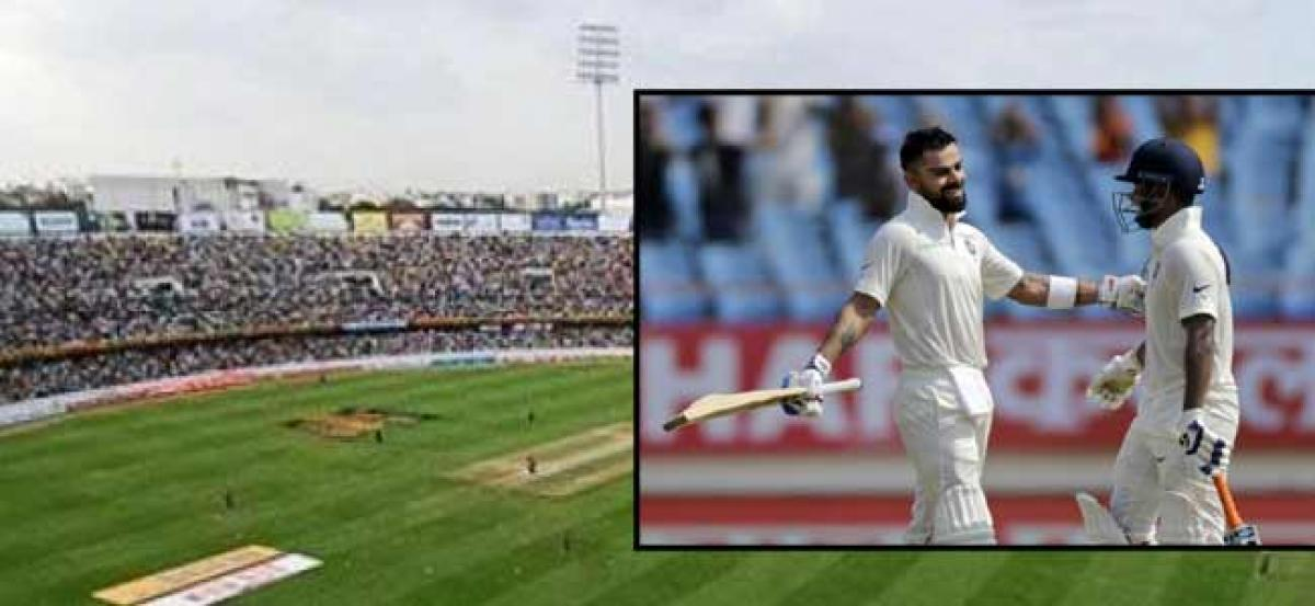 Security arranged for second test match between India and West Indies