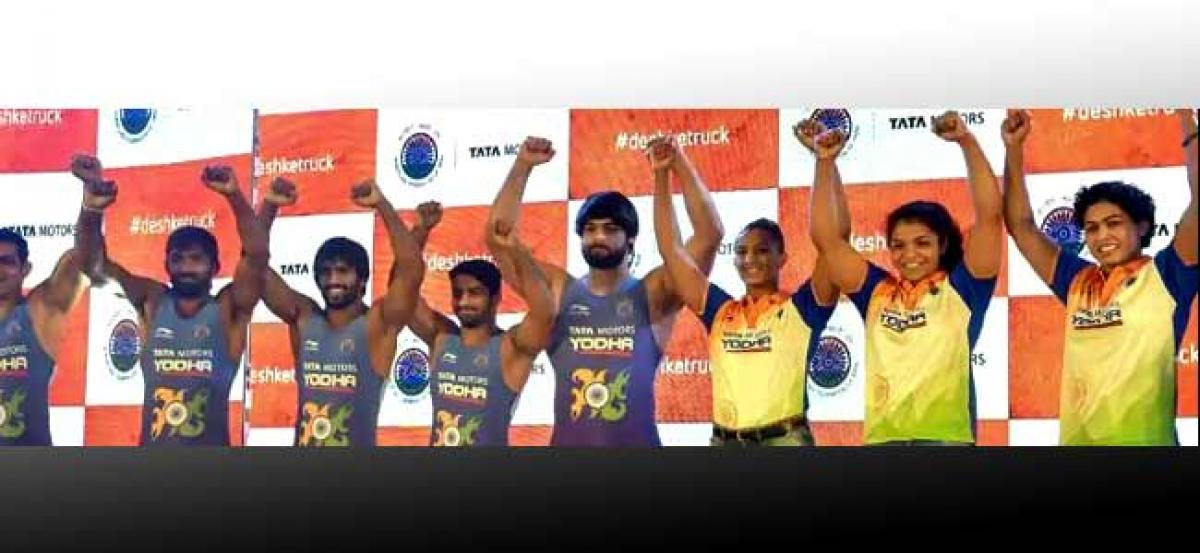 Indian wrestlers to get central contacts like cricketers