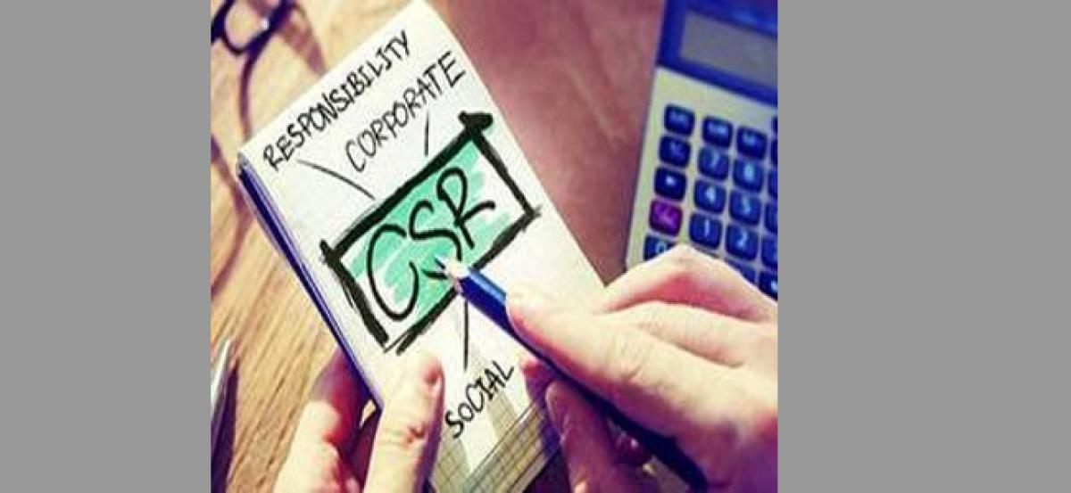Companies spent Rs 28,000 crore towards CSR works in nearly 3 years