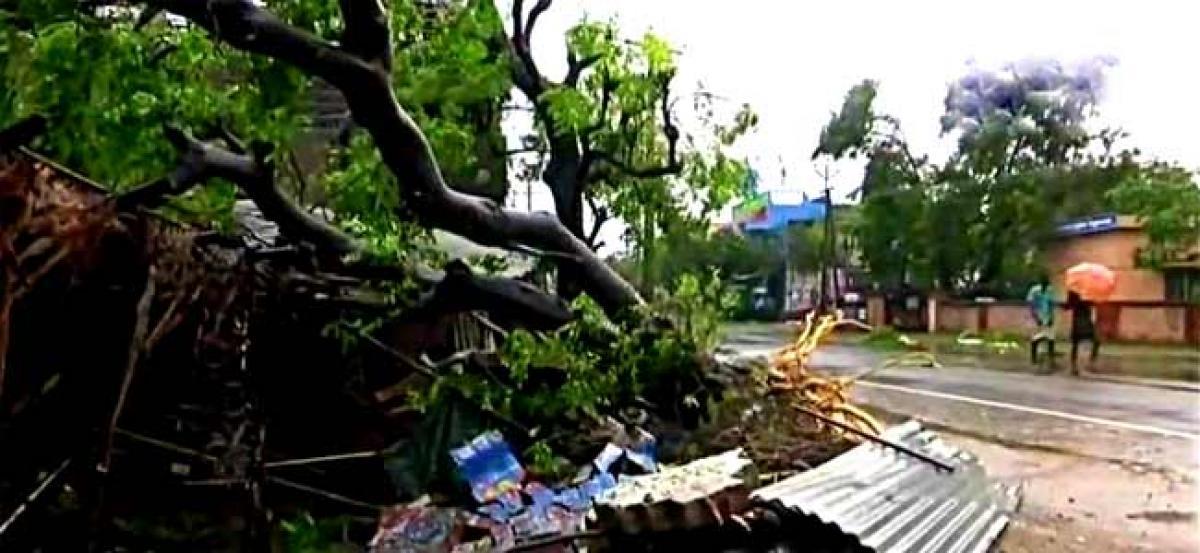 2 killed as cyclone Gaja pounds coastal Tamil Nadu, over 80,000 evacuated