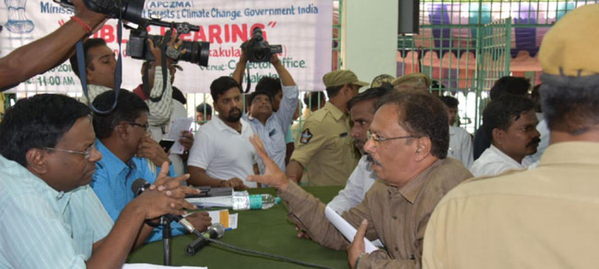 Fishermen oppose Coastal Zone Management norms