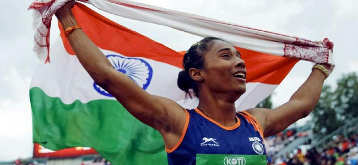 AFI gets slammed on Twitter after mentioning a remark on Hima Das not having fluent speaking skills