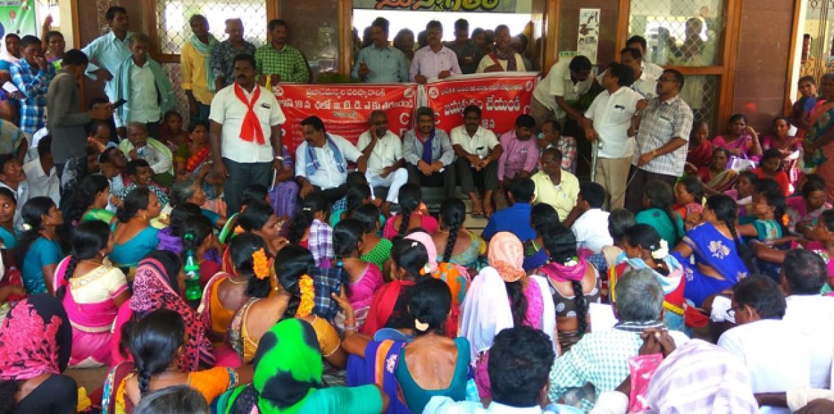CPM demands passbooks for podu lands