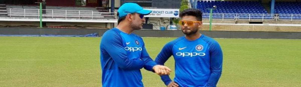 I feel more confident when Dhoni is around: Rishabh Pant post equalling world record