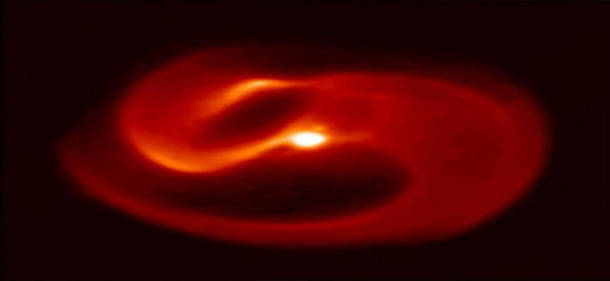 New pinwheel star system discovered