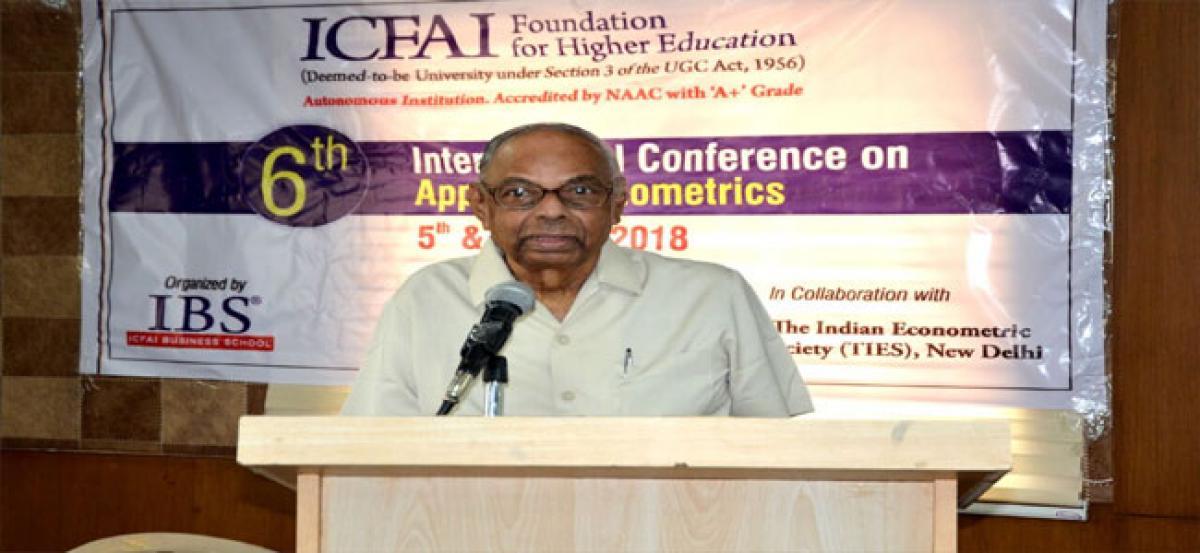 ICFAI conducts 6th international meet on Applied Econometrics
