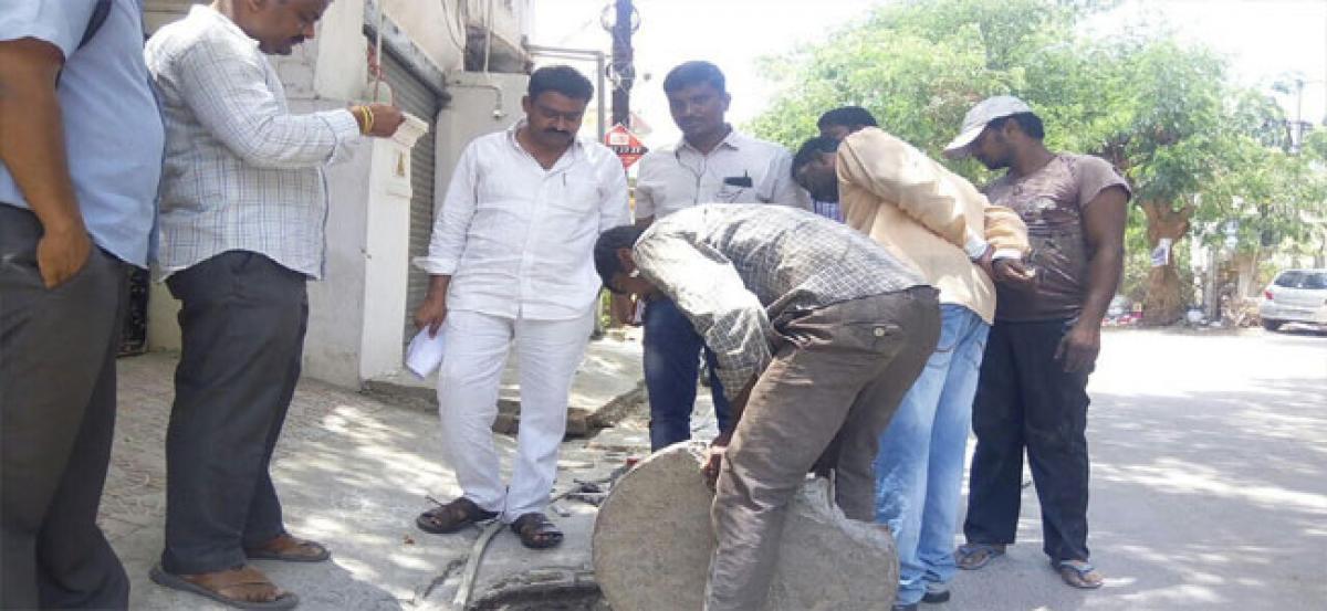 Kanduri assures permanent solution to drainage problems