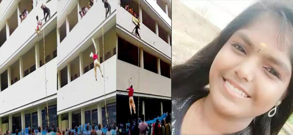 Disaster drill takes life of a 19-year-old girl in Coimbatore