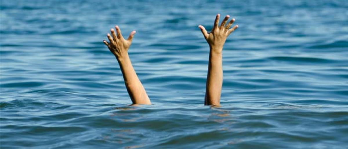 Two students drown in fish pond in Baptla