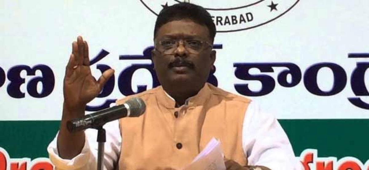 Congress will involve Professionals to draft manifesto: Dr. Dasoju Sravan