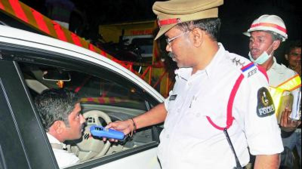 Drunk Driving checks: 76 cases registered in Hyderabad