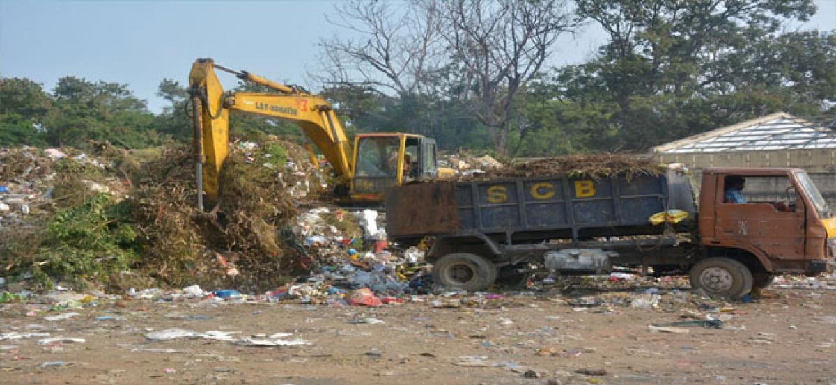 No headway in shifting Trimulgherry dump yard