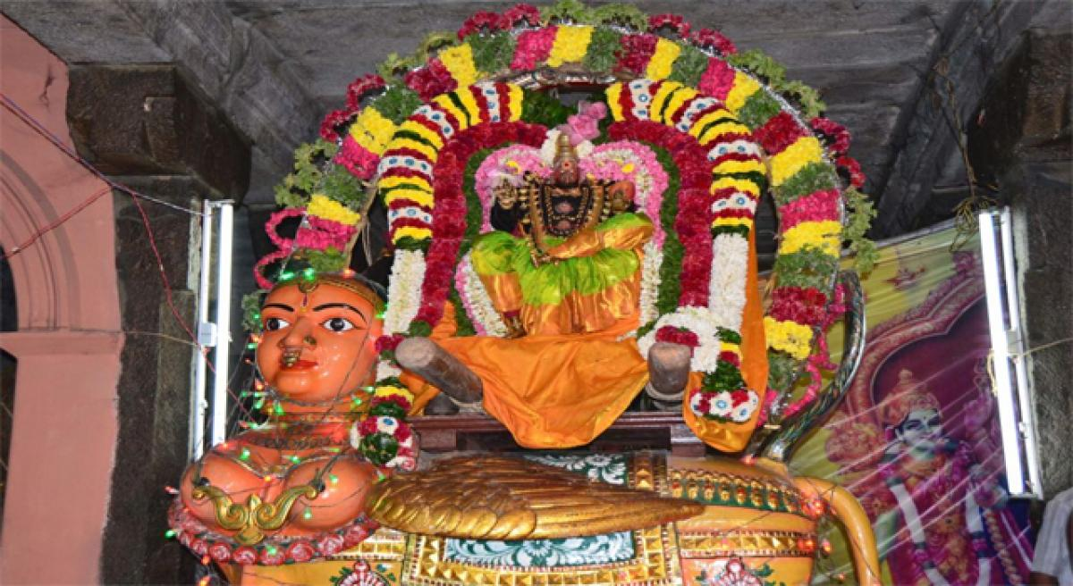Mahakumbabhishekam at Durga temple on Feb 26