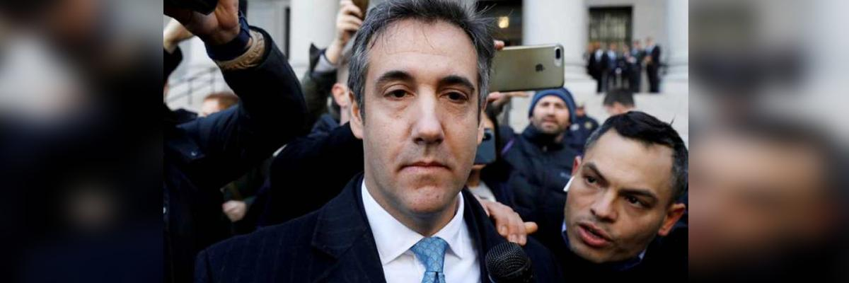 Ex-Trump lawyer Cohen jailed for 3 yrs, says 'job was to cover his dirty deeds'