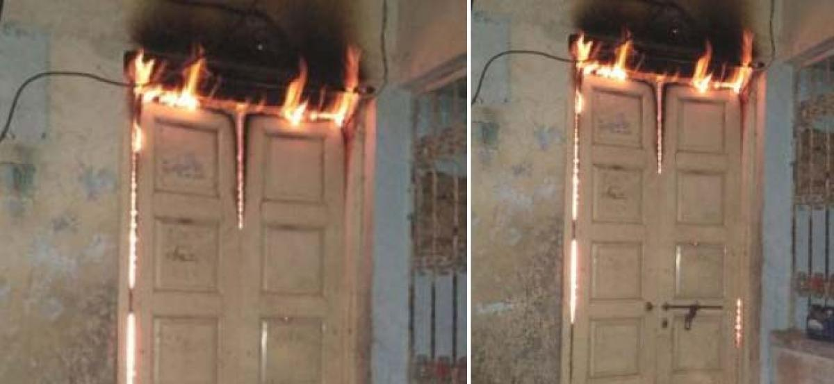 Fire breaks out at Kukatpally godown