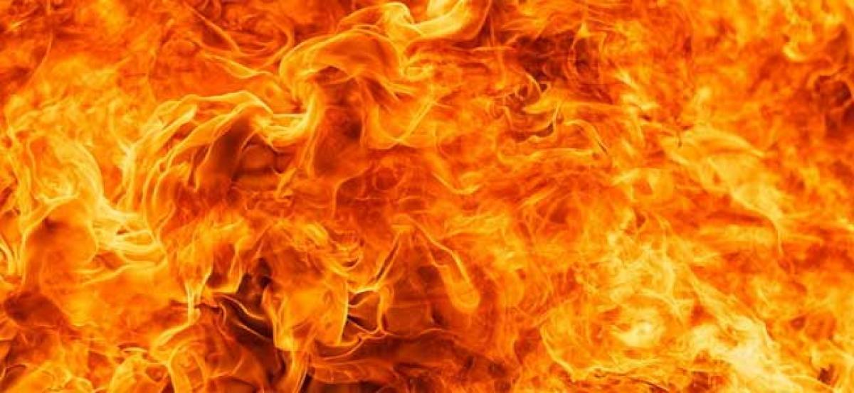 Miscreants try to set ablaze Panchayat Ghar in Shopian