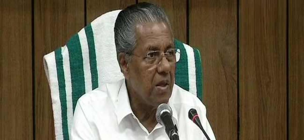 Kerala floods: CM urges for Special Assembly Session on relief work