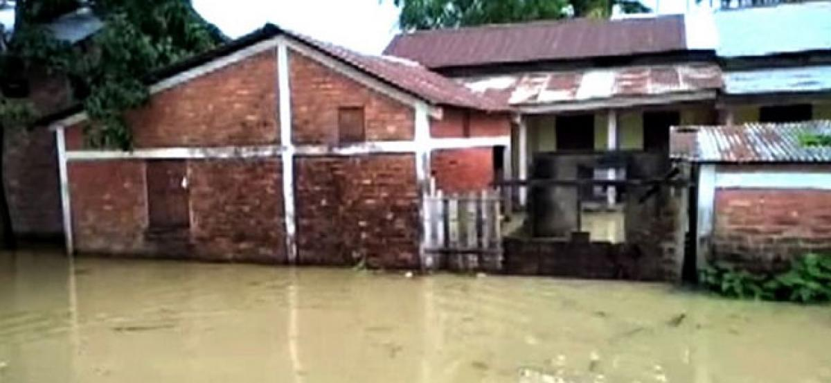 Thousands dislocated by floods in Northeast