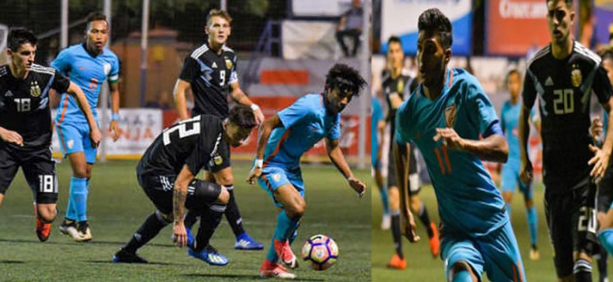 India wins against Argentina in a stunning 2-1 match