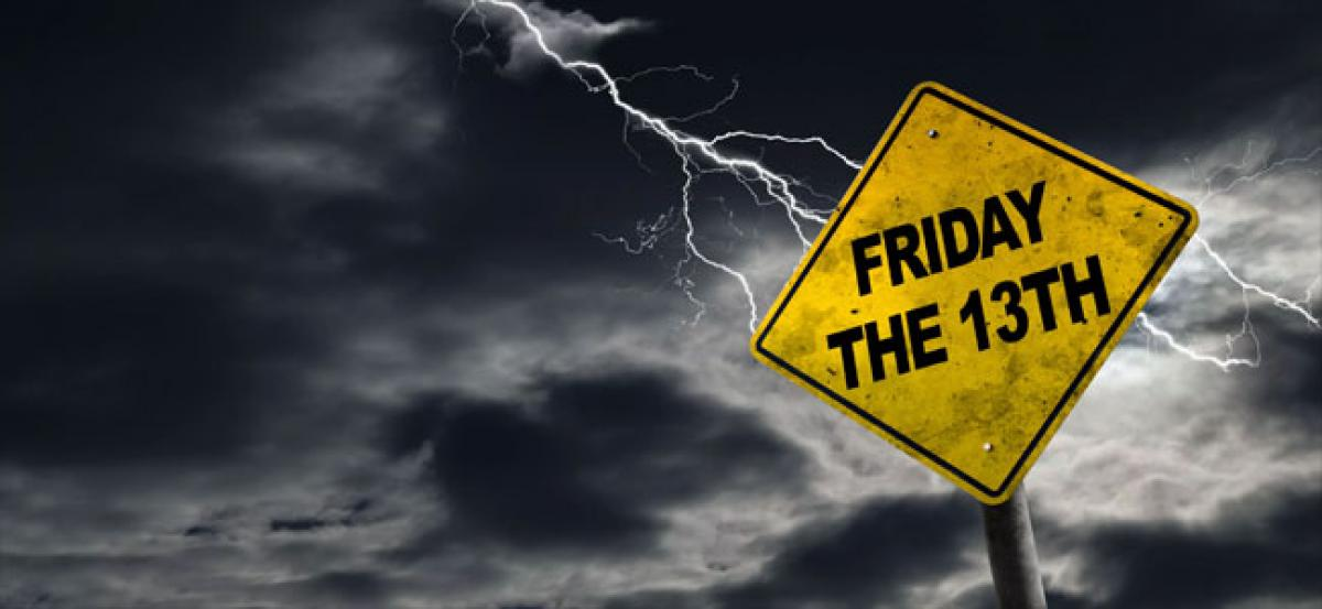Alert: Fear of Friday the 13th is here